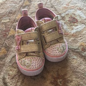 Sketchers toddler girls sneakers